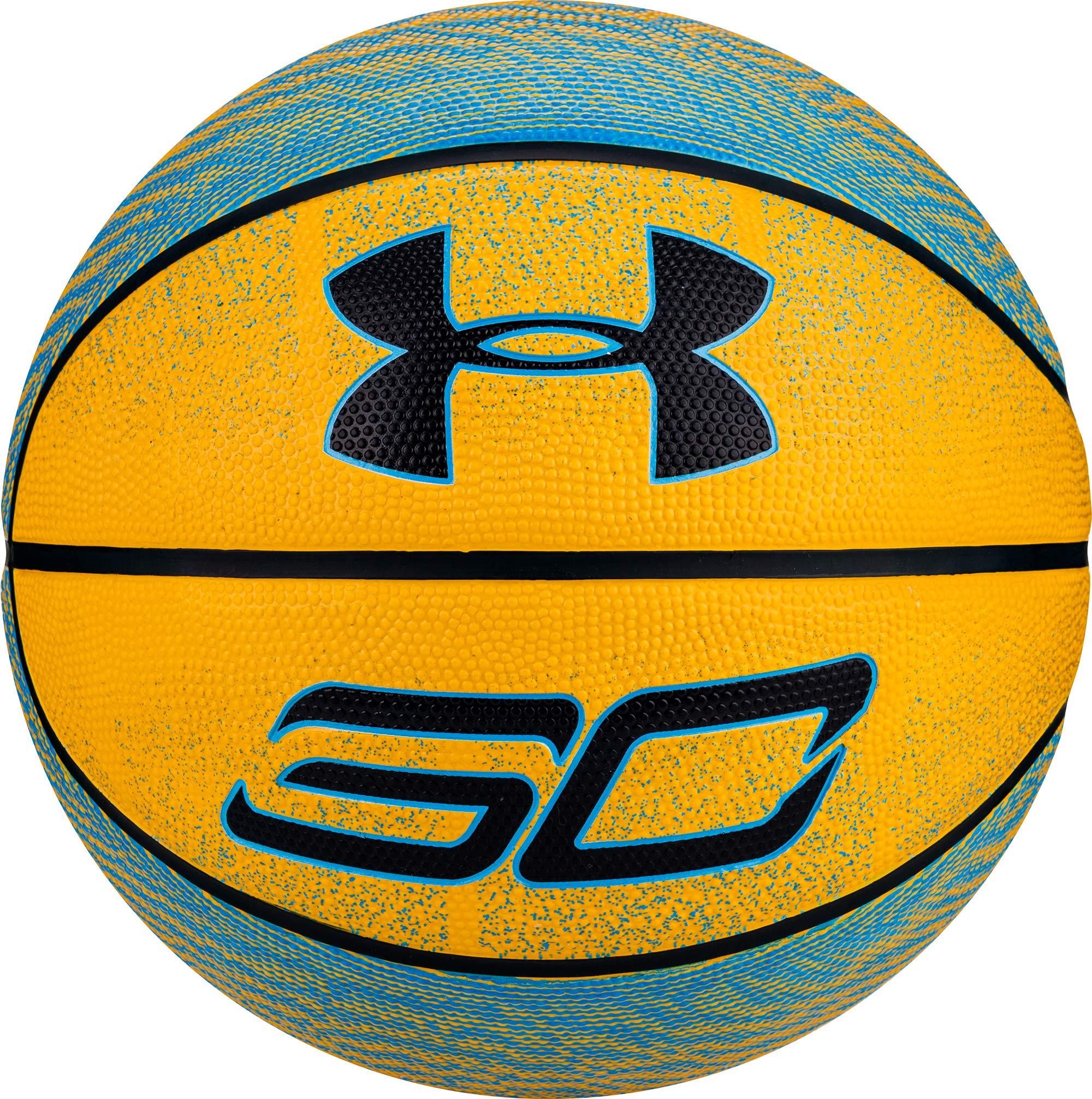 Black//Orange Under Armour 295 Spongetech Basketball Official//Size 7