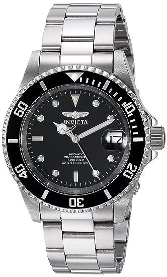 Invicta - Pro Diver - 8926OB - Montre - Affichage - Analogique - Bracelet - Acier inoxydable - Argent - Cadran - Noir - Mixte