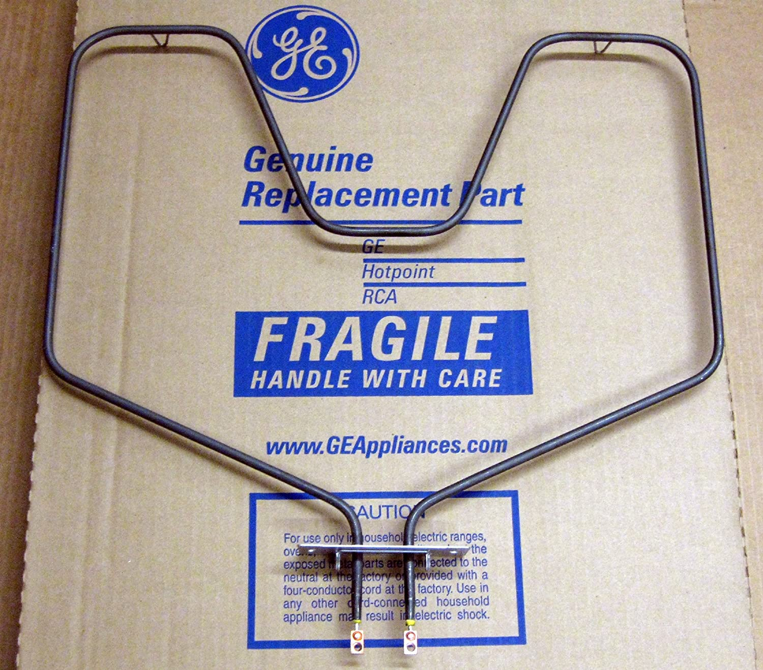 GE WB44X5082 Bake Element for Self Cleaning GE, Hotpoint, and RCA Ovens