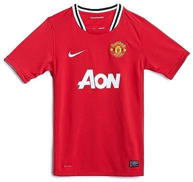 8135bcb8bbe Manchester United Home Shirt 2011 12 - Kids - XSB 24   26   Chest ...