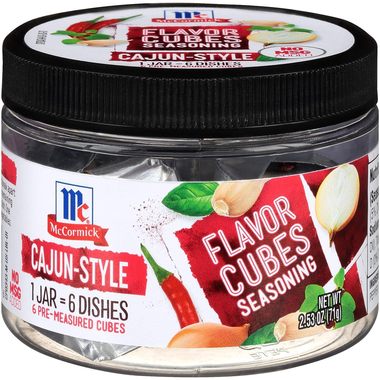 McCormick Flavor Cubes Seasoning, Cajun Style, 2.3 Ounce