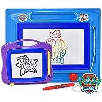 Paw Patrol 狗狗巡逻队磁性绘画板,大号可擦 Magna 涂鸦画板,旅行尺寸素描器,彩色,绘画和擦拭,适合儿童、幼儿、男孩和女孩