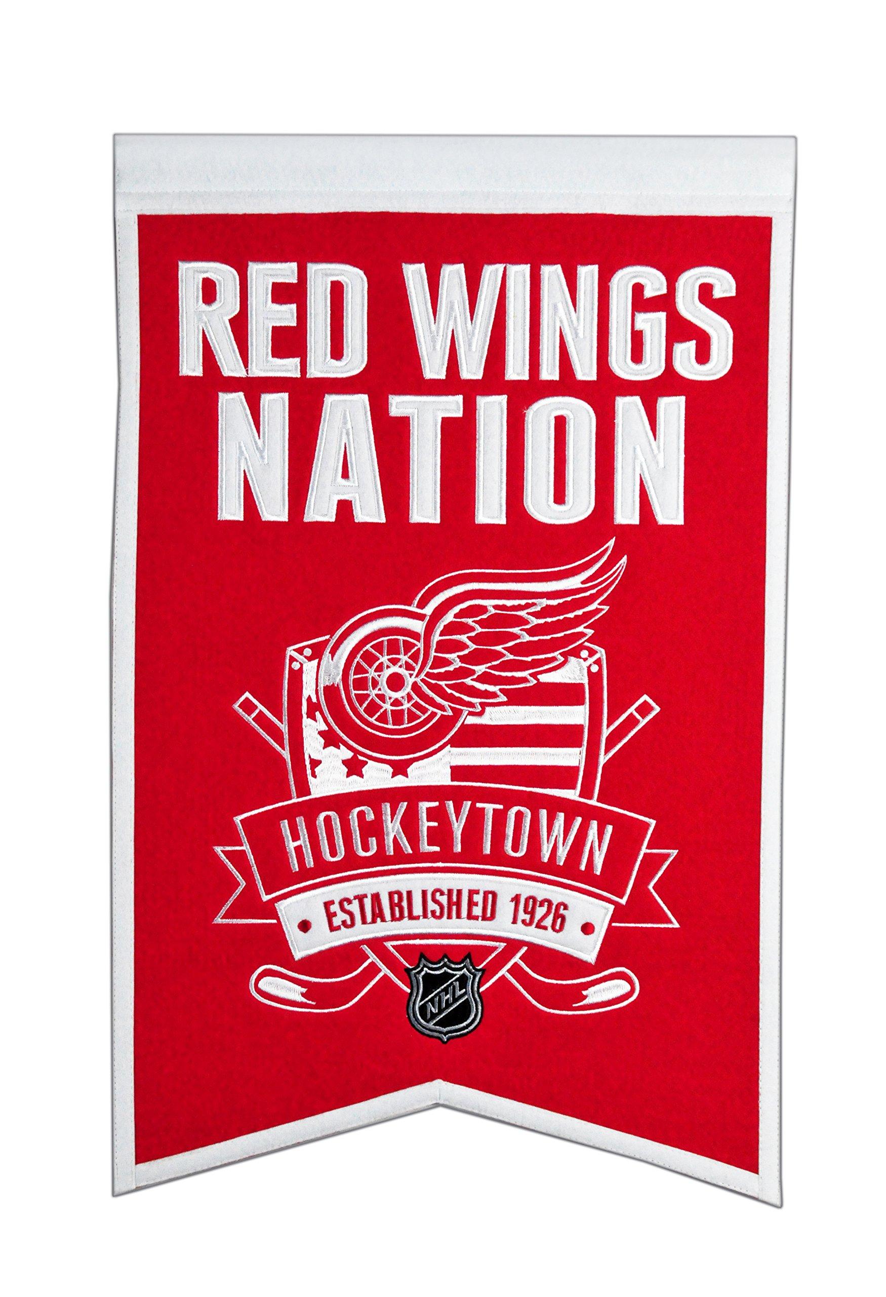 Winning Streak NHL Detroit Red Wings Nations Banner by Winning Streak