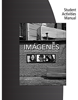 Student Activities Manual for Rusch/Dominguez/Caycedo Garners Imágenes: An Introduction to Spanish