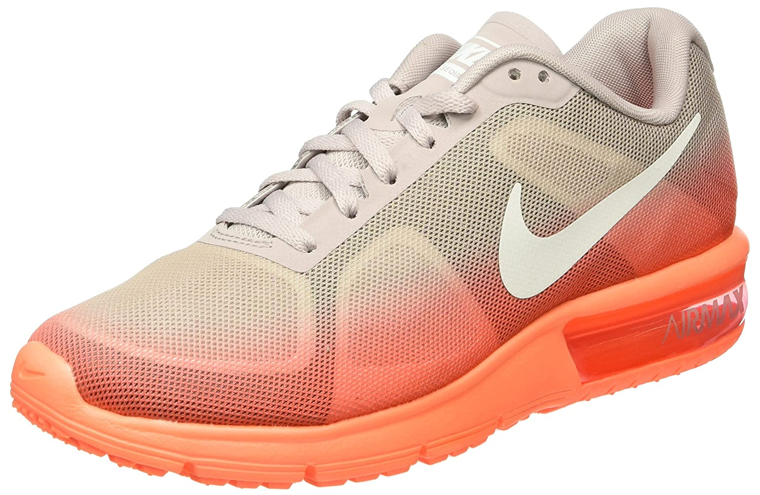 amazon com nike air max sequent women round toe synthetic gray
