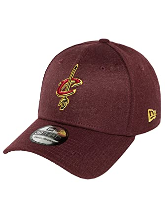 Gorra New Era - 39Thirty Nba Cleveland Cavaliers Heather Team granate/amarillo: Amazon.es: Ropa y accesorios