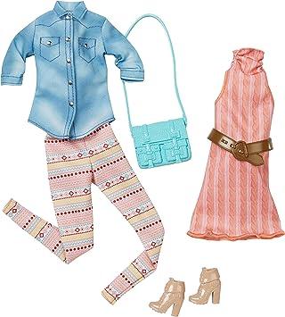 Amazon.es: Barbie Fashion - Paquete de 2 Unidades Casuales, Color ...