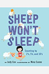 Sheep Won't Sleep: Counting by 2s, 5s, and 10s Hardcover