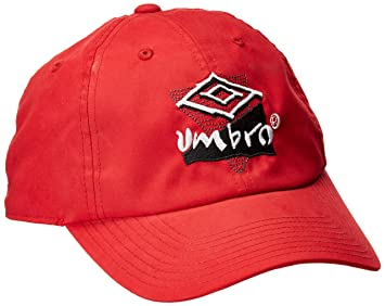 46423c85fb7552 Umbro Vintage Nylon Snapback Cap, Vermillion, One Size: Amazon.ca ...