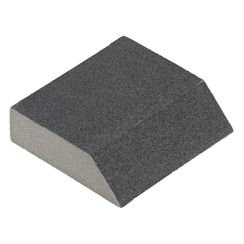 grau Silizium-Karbid Wolfcraft 2779000 Schleifblock Kontur Korn 120