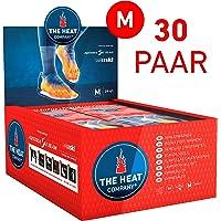 THE HEAT COMPANY Sohlenwärmer - EXTRA WARM - Wärmesohlen - Fußwärmer - 8 Stunden warme Füße - sofort einsatzbereit - luftaktiviert - rein natürlich - Größe MEDIUM: 39-41 - 5 oder 30 Paar