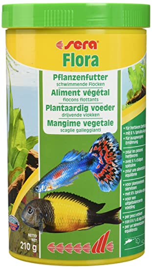 Sera Flora - Copos Vegetales (1000 ml): Amazon.es: Productos para mascotas