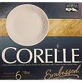 Corelle Bella Faenza 18 Piece Dinnerware Set - White