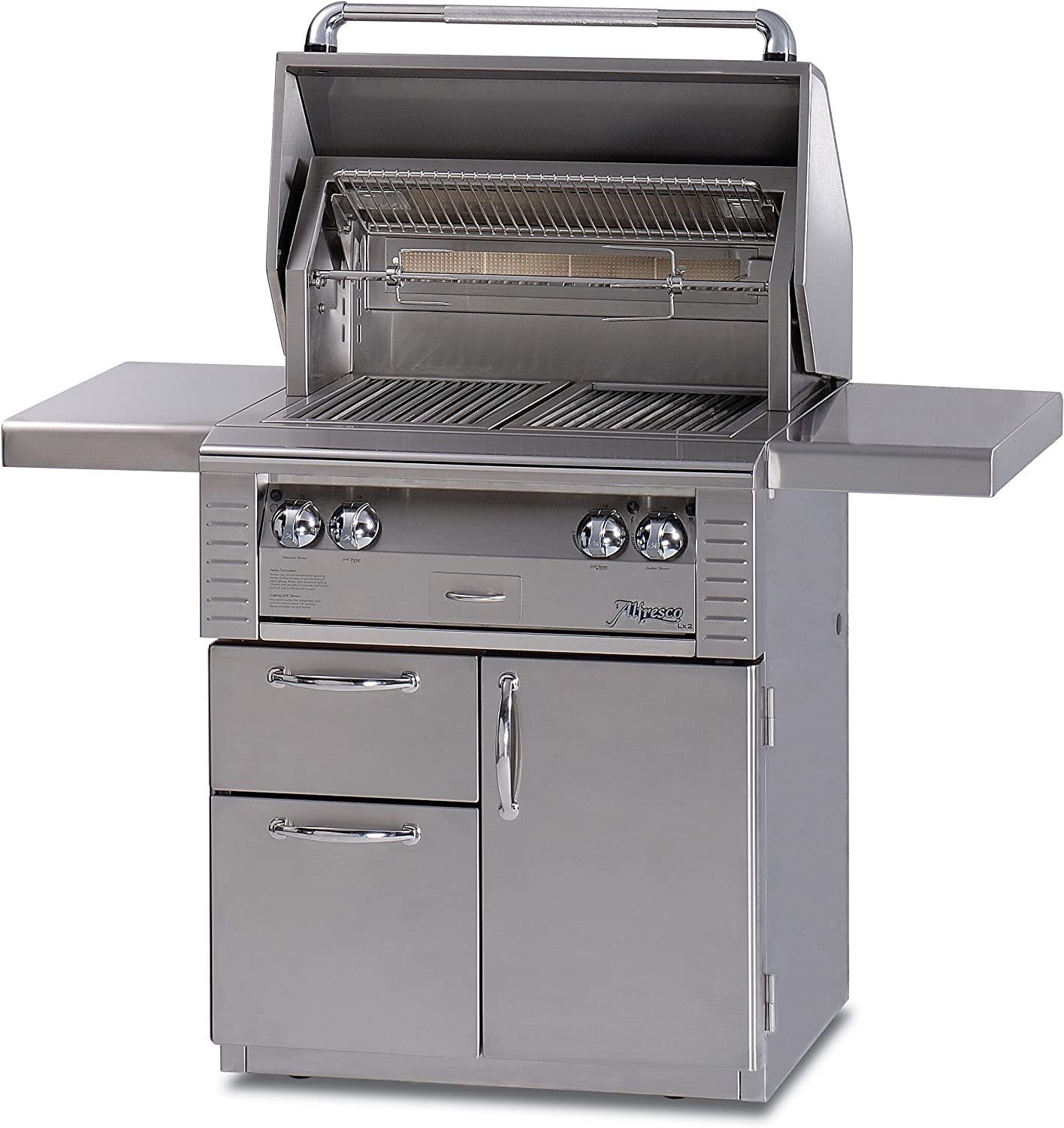 Amazon Com Alfresco Stainless Steel Built In Barbecue Grill