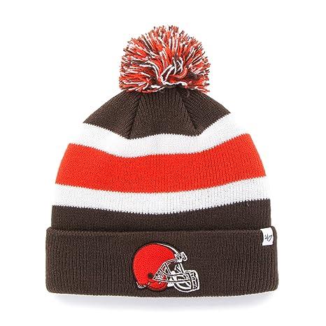 b854d78db  47 NFL Cleveland Browns Breakaway Cuff Knit Hat