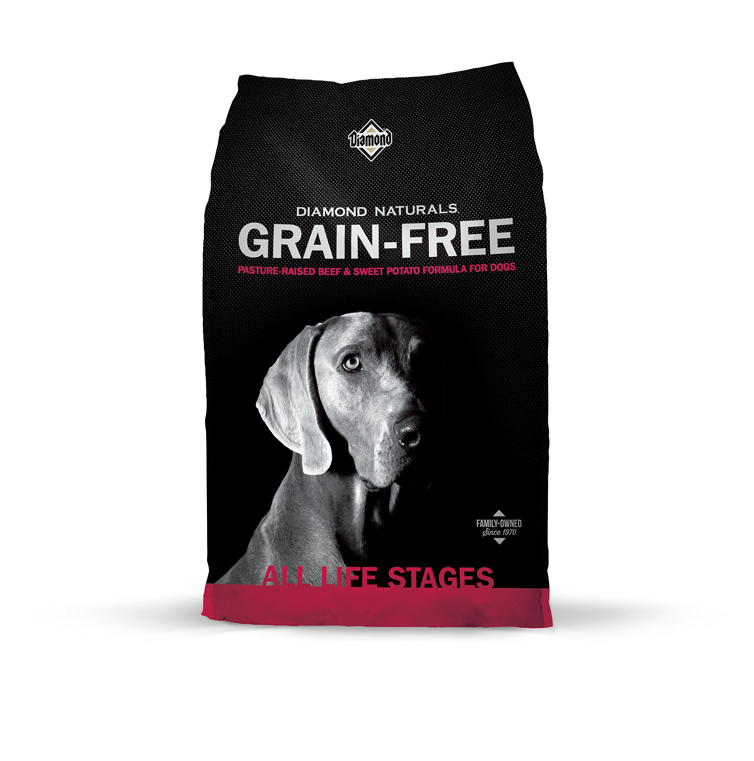 Diamond Naturals Grain Free Real Meat Recipe Dry Dog Food with Natural Ingredients