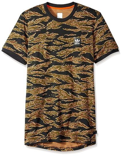 d87f4700947 Amazon.com: adidas Originals Men's Skateboarding Camo All Over Print Tee:  Clothing