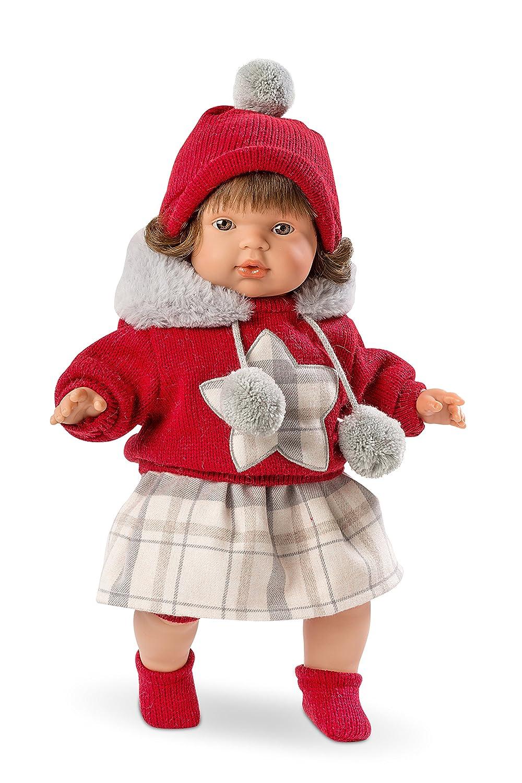 Llorens 38546 - Weinende Puppe Lola, 38 cm