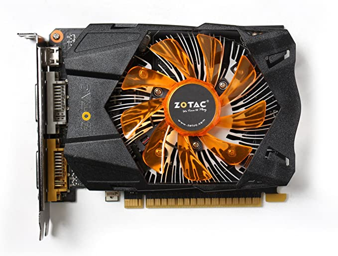 ZOTAC NVIDIA GeForce GTX 750 Ti 2GB GDDR5 2DVI/Mini HDMI PCI-Express Video Card ZT-70601-10M
