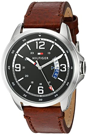 05d2b4174 Image Unavailable. Image not available for. Color: Tommy Hilfiger Men's  Henry Stainless Steel Quartz Watch ...