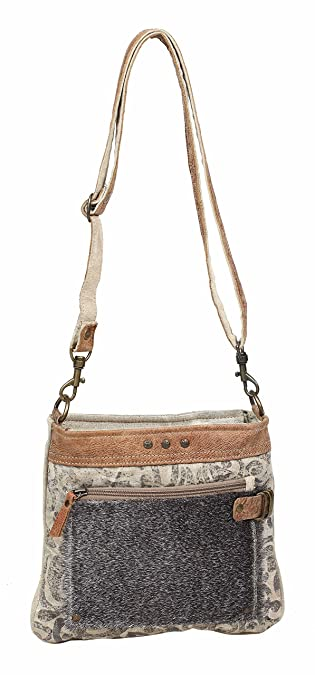 Amazon.com: Myra Bag S-1202 - Bolsa de lona para Crossbody ...