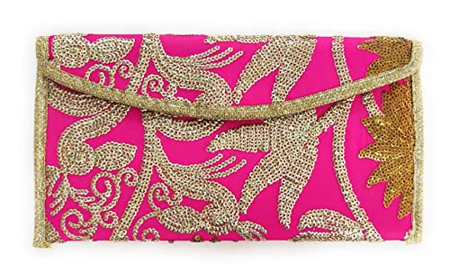Suvasana Clutches For Women Party Wear Shagun Envelopes For