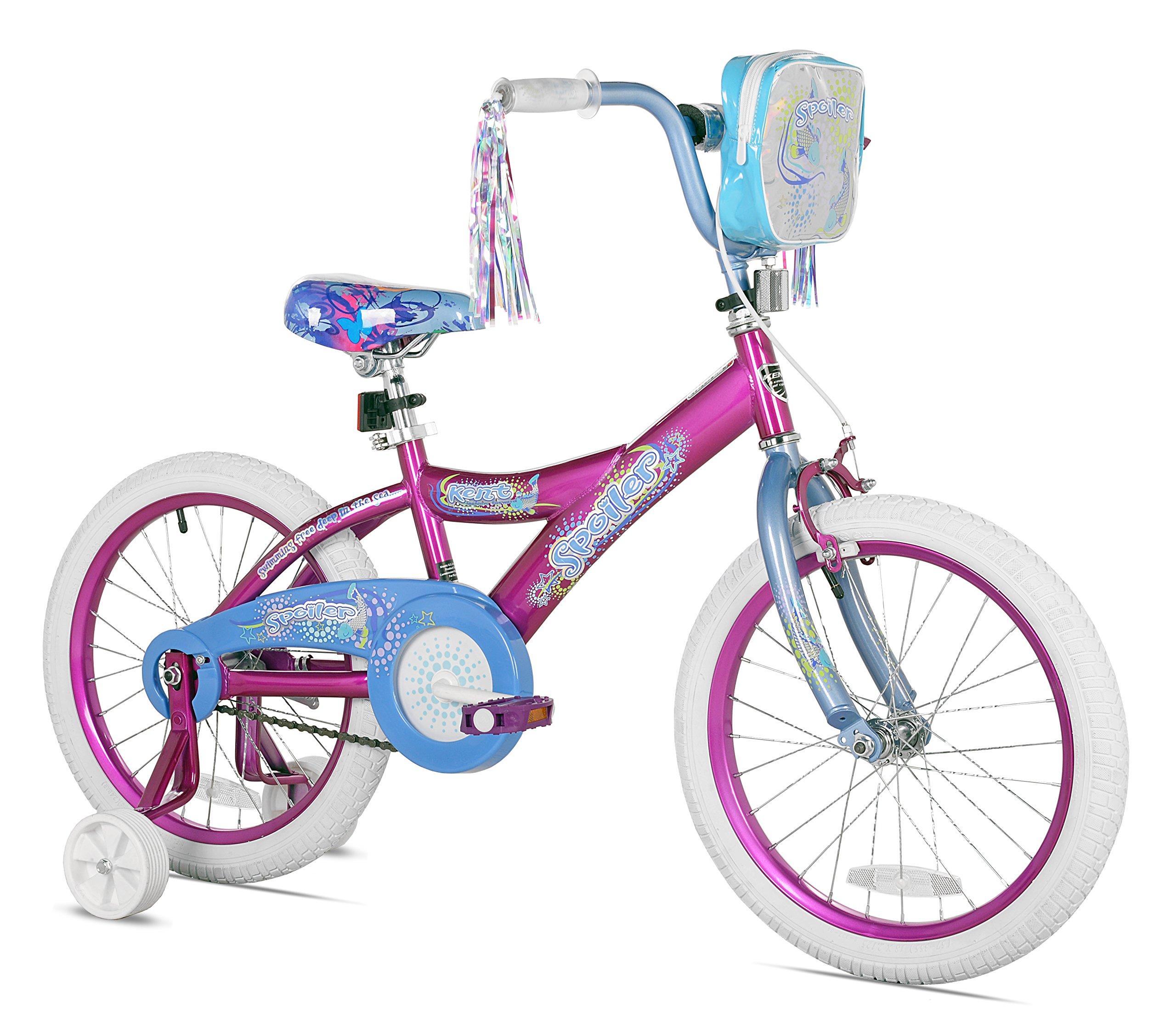 Kent Girls Spoiler Bike (18-Inch Wheels) by Kent (Image #1)