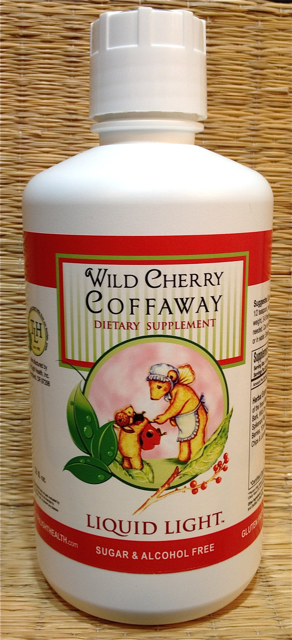 Wild Cherry Coffaway (32 oz Bottle) - Cold Season Support, All Natural Cough Syrup.