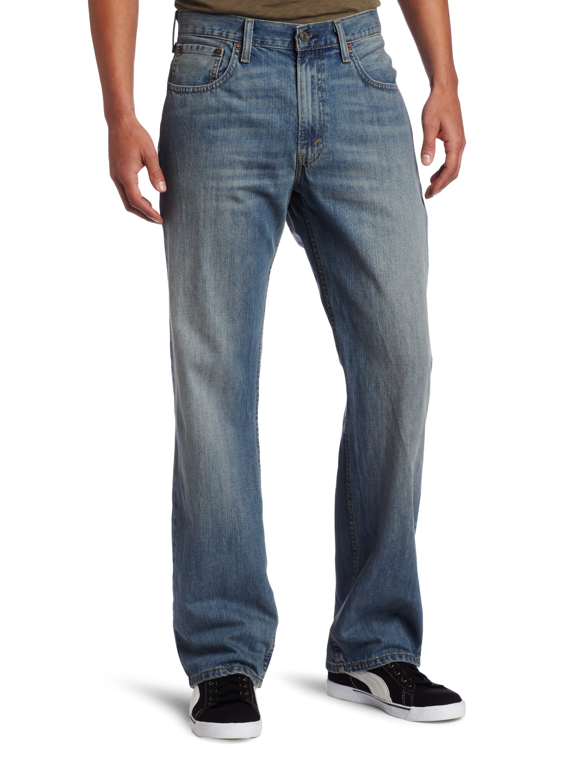 Levi's  Men's 569 Loose Straight Leg Jean, Rugged, 36Wx32L by Levi's