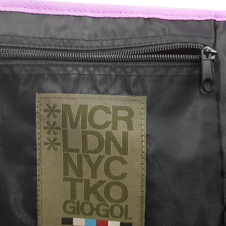 Womens Gio Goi Designer Cross Body Bag College Gym Laptop Shoulder Messenger ...