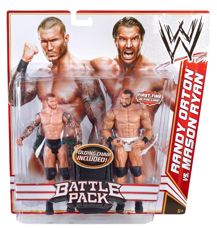 WWE Battlepack Randy Orton vs Mason Mason vs Ryan Doppelpack 12475b