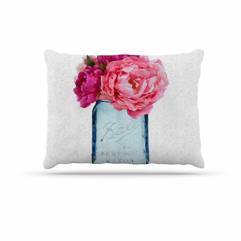 KESS InHouse Oriana Cordero Perfect Mason bluee Pink Dog Bed, 30  x 40