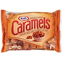 Kraft Caramels Individually Wrapped Caramel Candy Snack Bag (11 oz Bags)