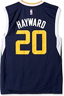 9540a09c1 Amazon.com   adidas Utah Jazz Gordon Hayward NBA Men s New Swingman ...