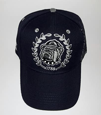 competitive price cb6e5 7d212 ... where can i buy georgetown hoyas adjustable velcro hat 3d embroidered  cap 6ed9e a5776