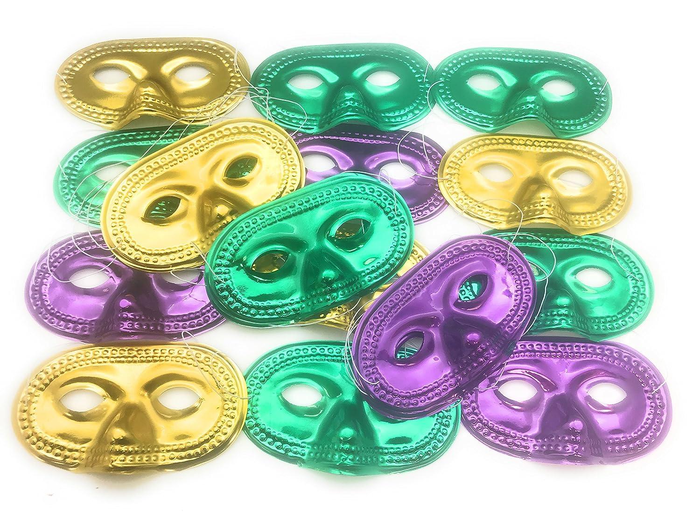Oojami Metallic Half-Masks (2 DZ)