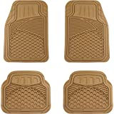 AmazonBasics 4 Piece Heavy Duty Rubber Car Floor Mat