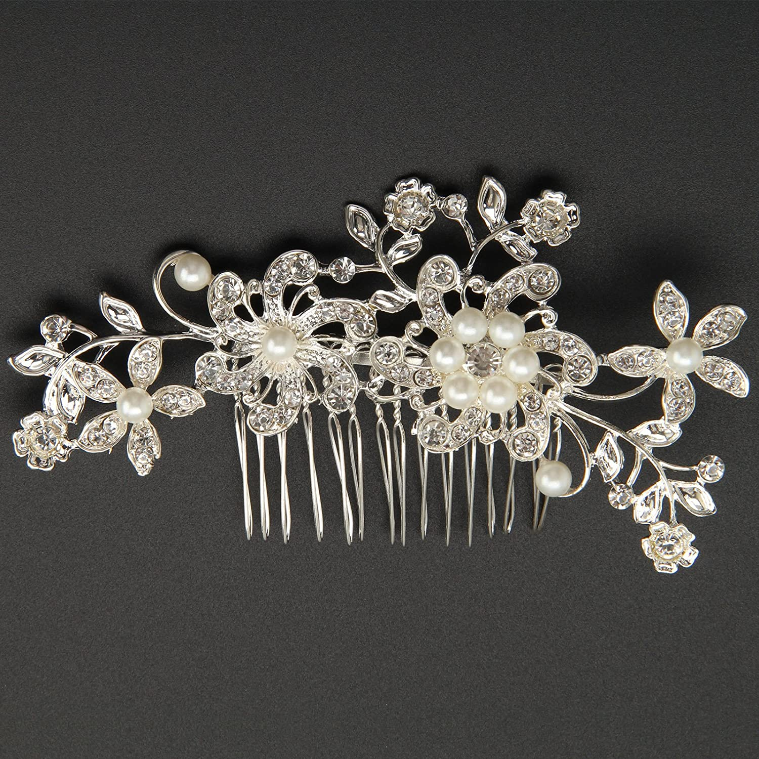 AllRight Bride Hair Comb Wedding Hair Clips Pearls Hair Accessory OEM