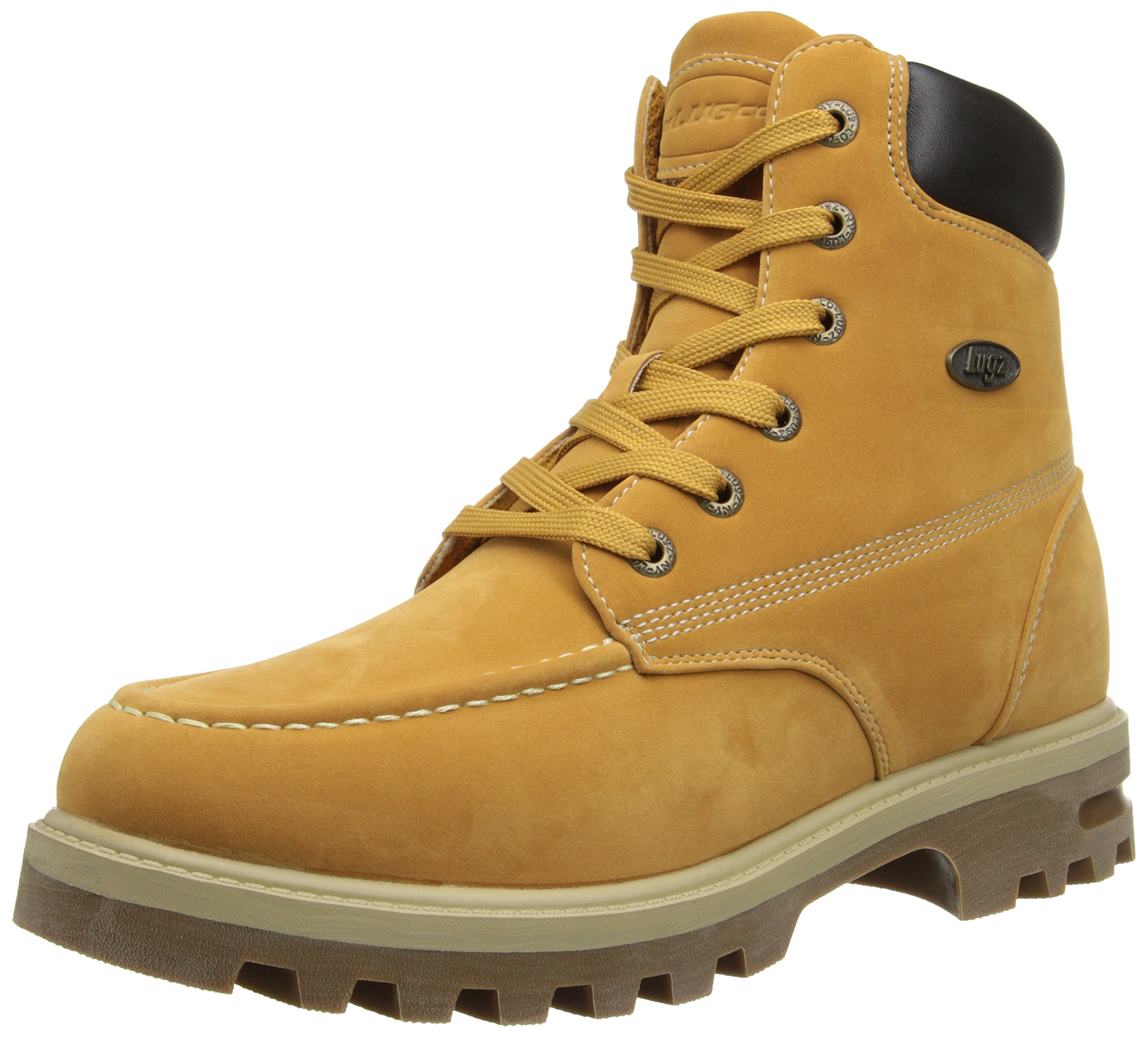 Lugz Men's Howitzer WR Boot, Golden Wheat/Cream/Bark/Gum, 12 D US