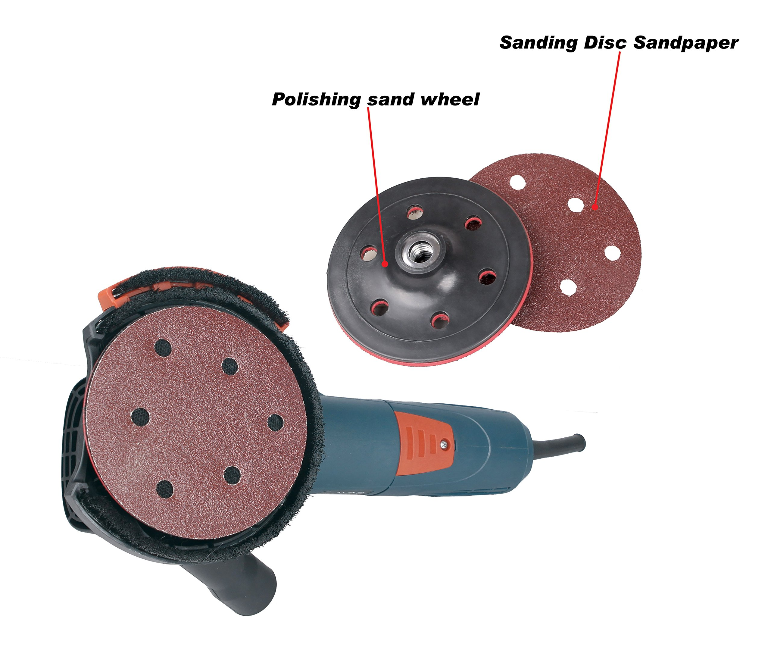 Dastool Expert Surface Grinding Dust Shroud for Angle Grinder,Universal 5-Inch Dt1701-125 by Dastool (Image #5)