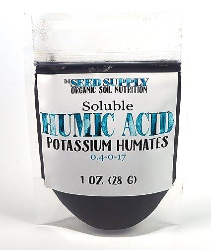 Potassium Humates (Humic Acid) As a Potassium Source? - Nutrients