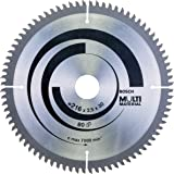 Bosch Professional 2608640447 Lame de scie circulaire Multi Material 216 x 30 x 2,5 mm, 80, 1 pièce