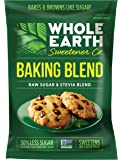 Whole Earth Sweetener, Raw Sugar & Stevia Baking Blend, Low-Calorie, 1.5-pound
