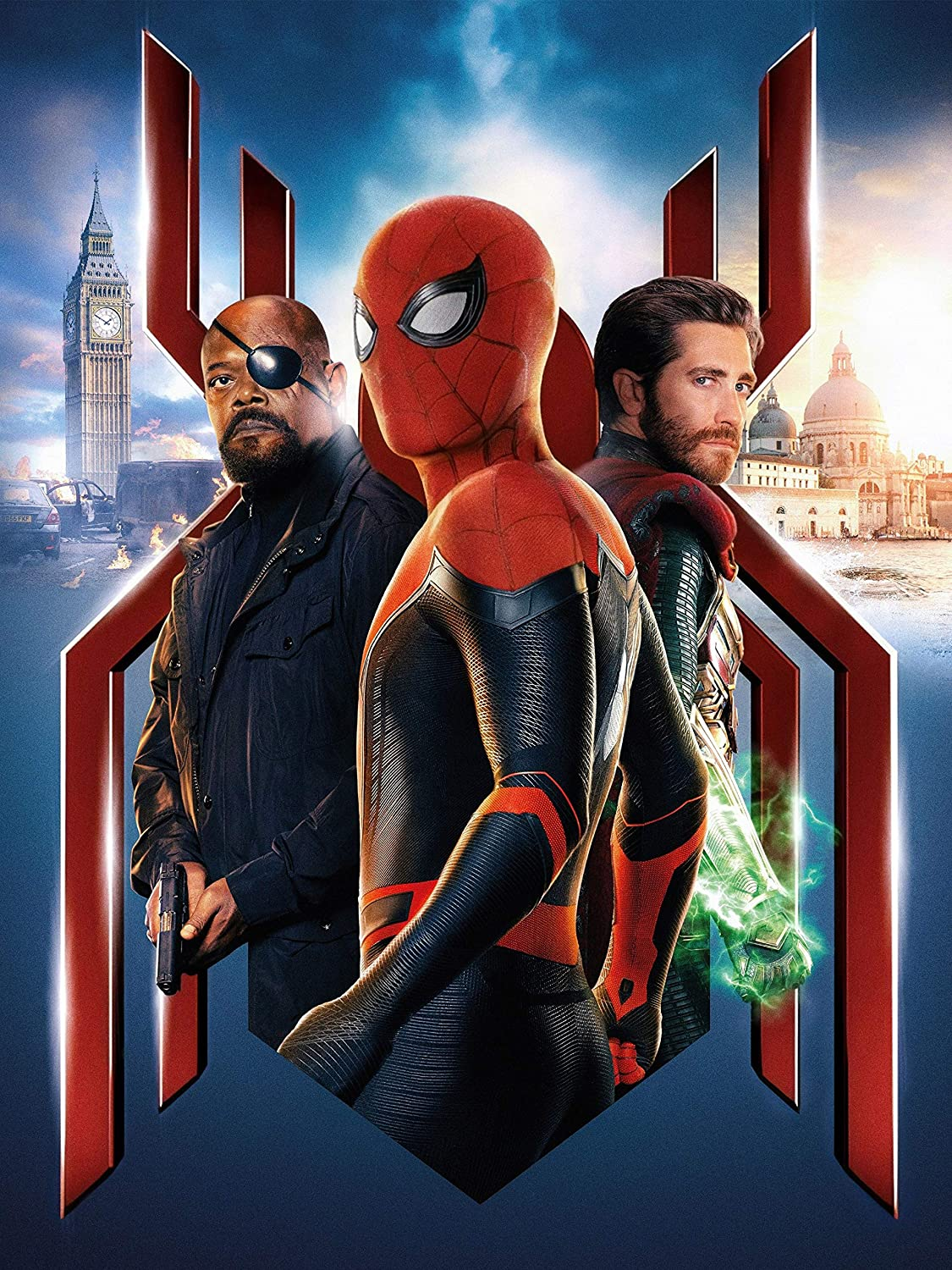 Zero.o Spiderman Far from Home Poster Size 18 X 24 Inches Wall Poster Print