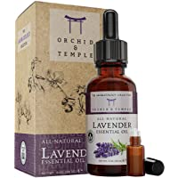 Lavender Essential Oil. 4 oz Bottle w Roller. 100% Pure Therapeutic Grade Undiluted...