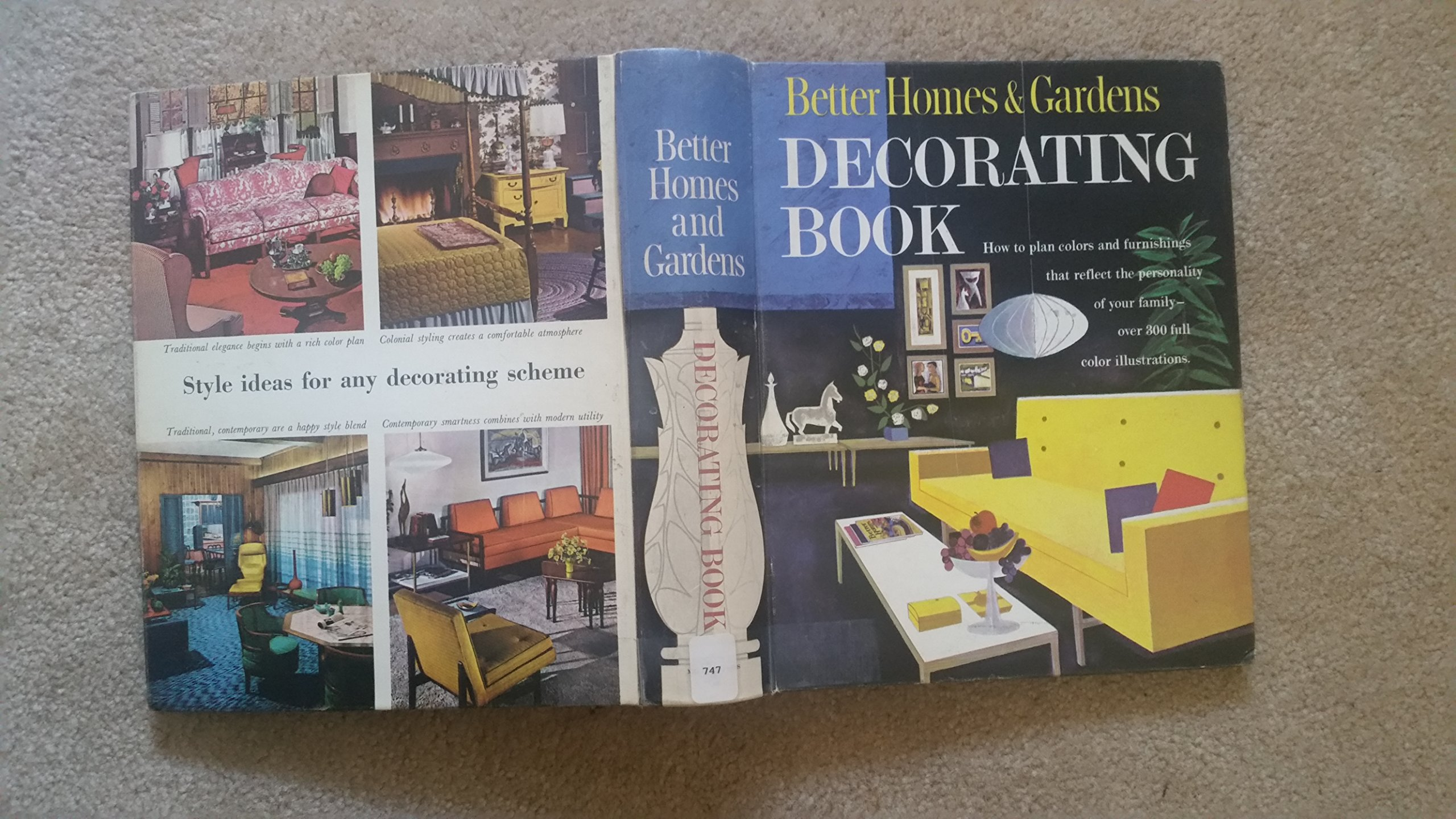 Better Homes And Gardens Decorating Better Homes And Gardens Decorating Book 5 Ring 1961 Edition