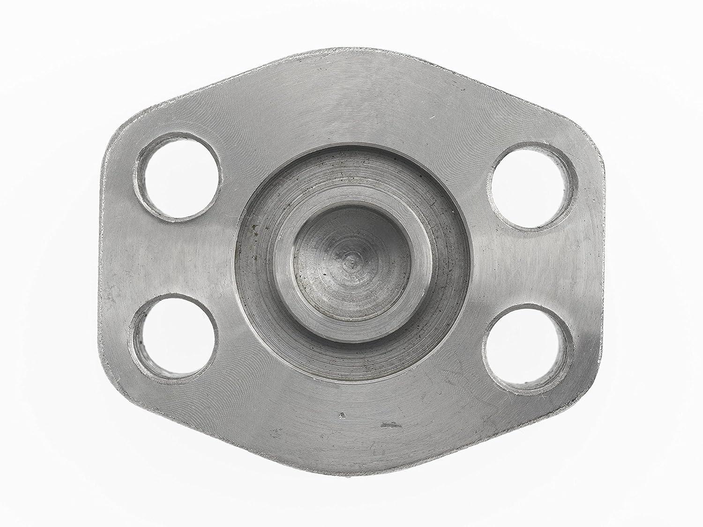 3//8-16 NPT Thread Brennan Industries 1942-62-12 Steel Plug Block O-Ring Face 3//4 Flange 3//8-16 NPT Thread 3//4 Flange Inc. Code 62
