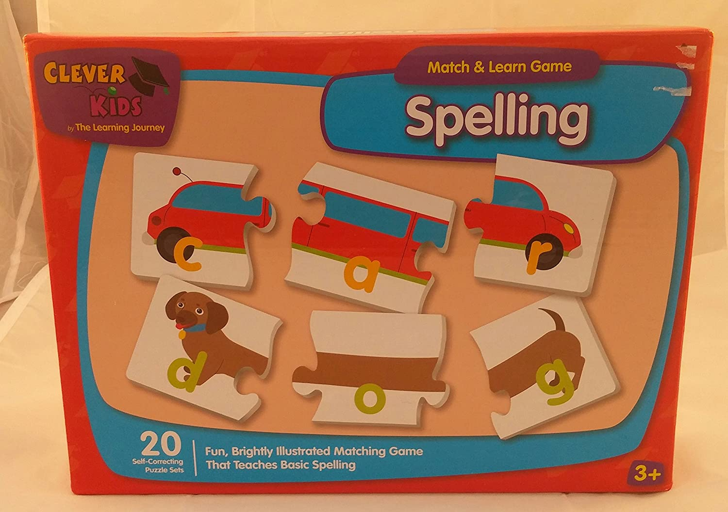 Learning Journey 175804 Match & Learn Spell It