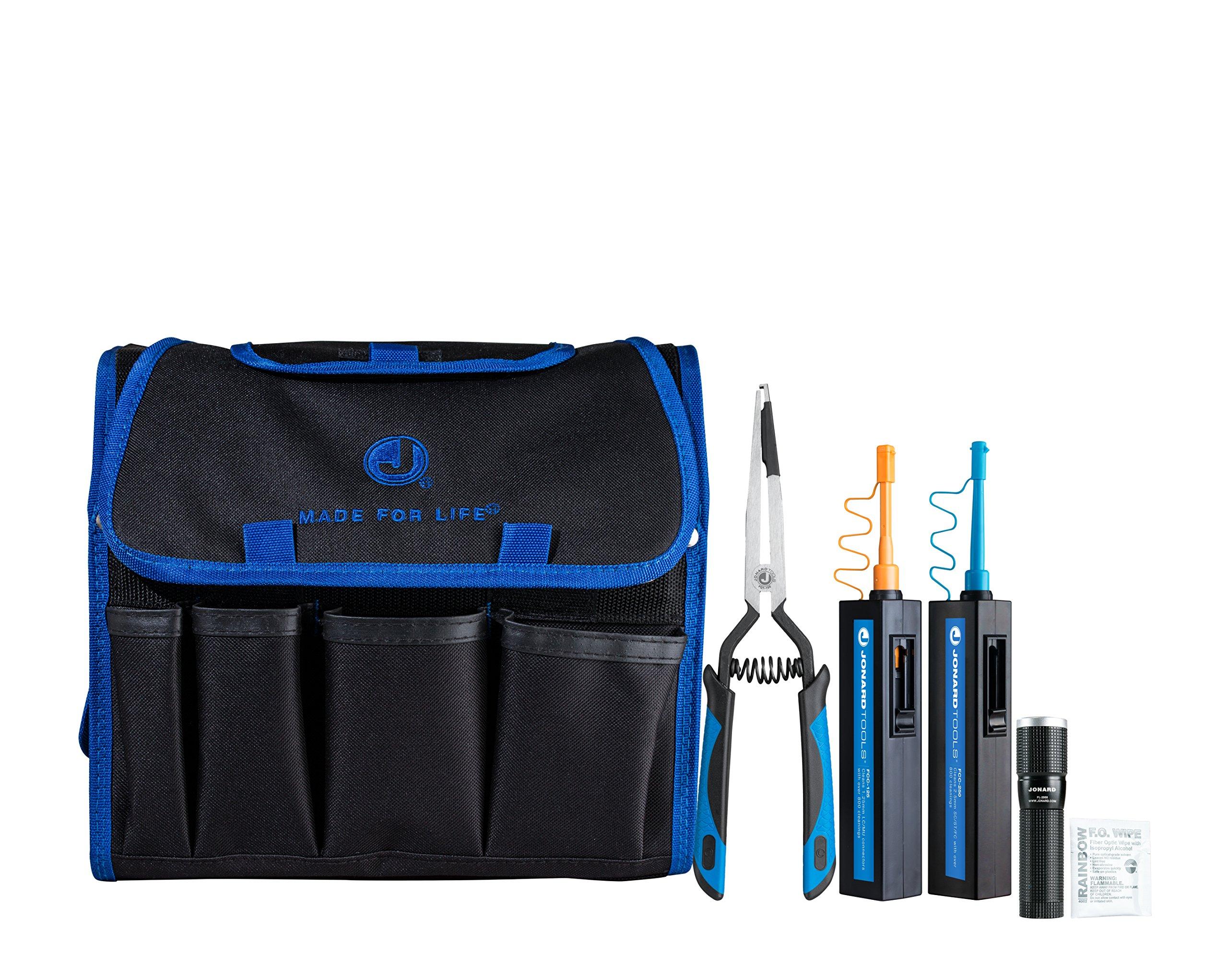 Jonard Tools TK-186 Fiber Optic Connector Cleaning Kit