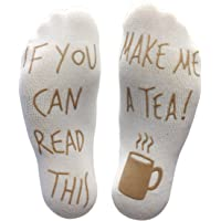 'If You Can Read This Make Me A Tea!' Funny Socks For Those People That Love Tea